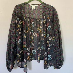 Cute floral shawl